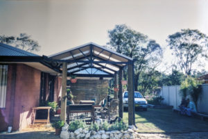Bunbury Timber and Steel Patio